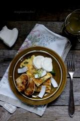omlet z koksem 2