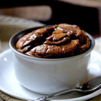 Suflet podwójnie czekoladowy