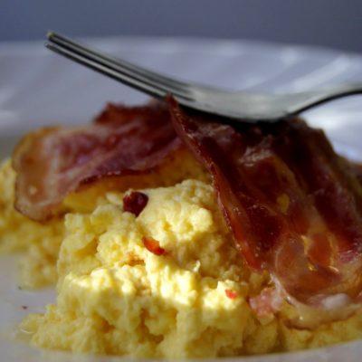 Delikatna jajecznica