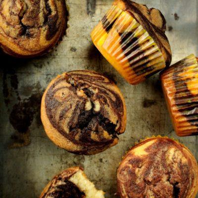 Muffiny z aromatyczną czekoladą