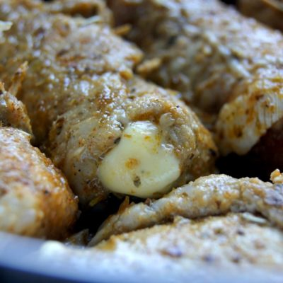 Roladki schabowe a'la kebab