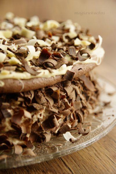 Tort orzechowo kawowy