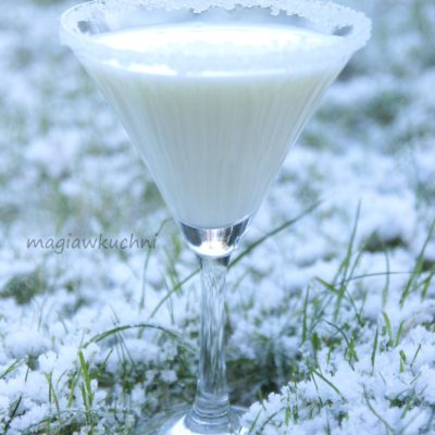 Białe martini