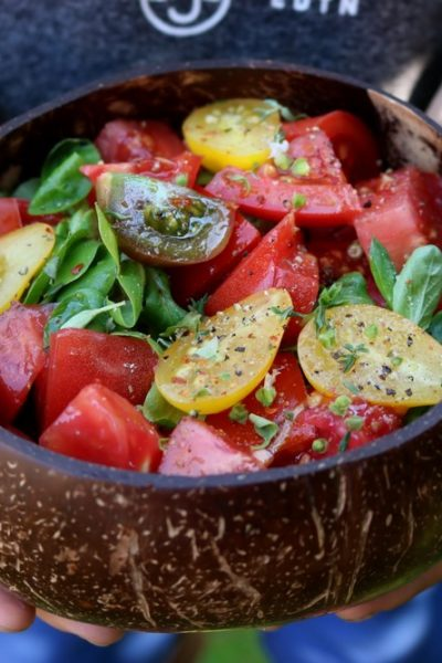 Smak lata – sałatka z pomidorów