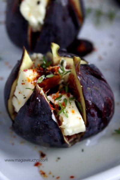 Pieczone figi z chilli