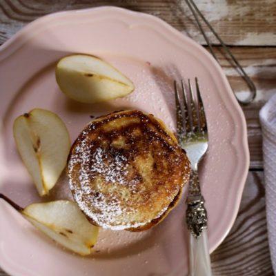 Gruszkowe pancakes