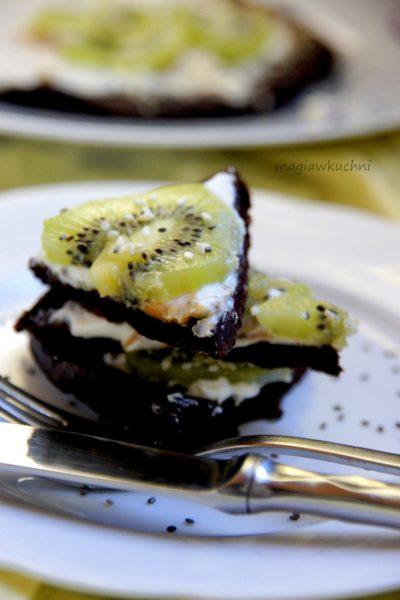 Omlet czekoladowy