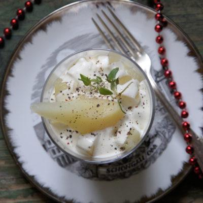Sałatka z gruszkami i tymiankiem