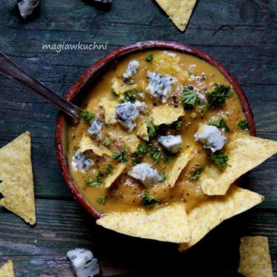 Zupa z batatów i kasztanów