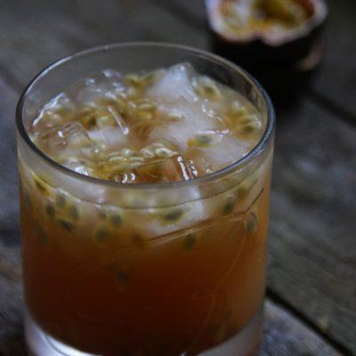 Drink z whisky i zieloną herbatą