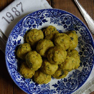 Pulpeciki z kaszą kuskus i curry