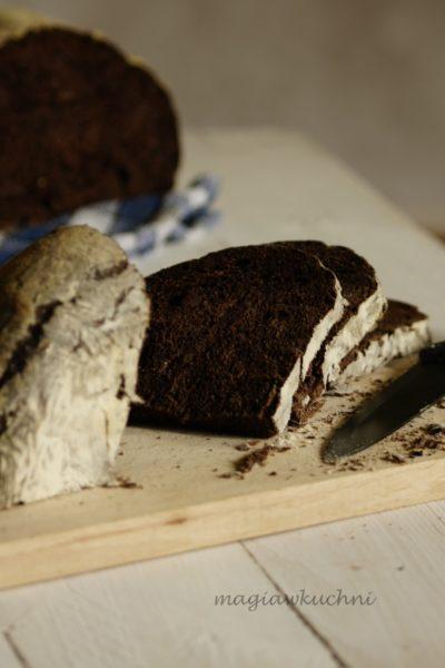 Czekoladowy chleb na zakwasie
