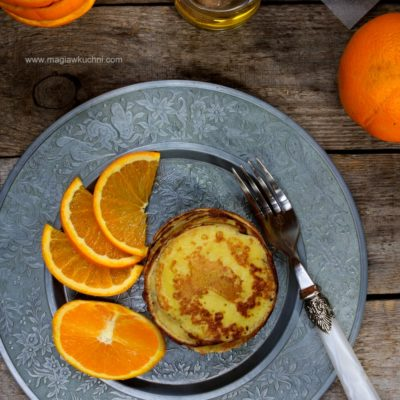 Pancakes pomarańczowe