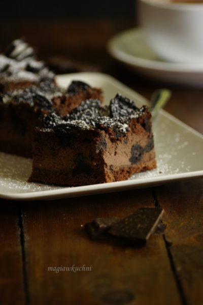 Sernik czekoladowy z oreo