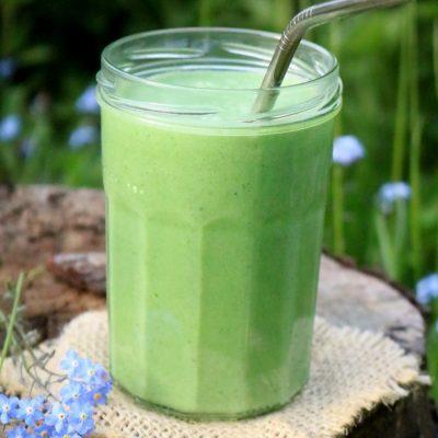 Smoothie na zielono zaczynamy dzień ;-)