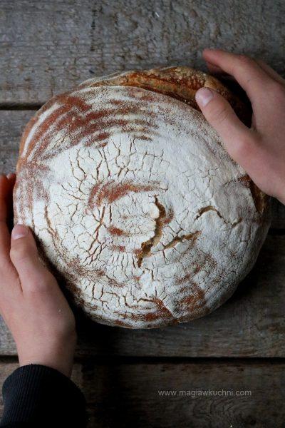 Chleb na zakwasie bez drożdży